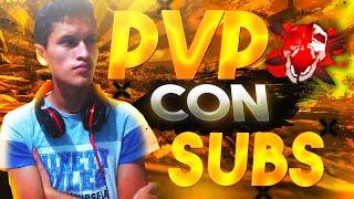 FREE FIRE EN VIVO - PVP CON SUBS - SALAS PRIVADAS- MINIJUEGOS🎁 - REGION EEUU
