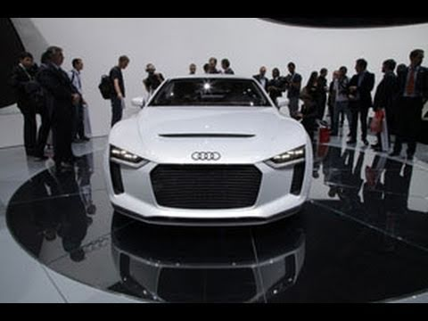 Audi Quattro Concept Unveiling - 2010 Paris Auto Show