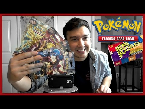 Pokémon Cards - CRAZY Bean Boozled Pack Battle VS Leonhart!!
