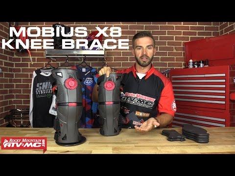 Mobius X8 Motocross Knee Braces