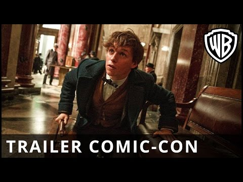 ANIMALES FANTÁSTICOS Y DÓNDE ENCONTRARLOS - Trailer Comic Con - Oficial Warner Bros. Pictures