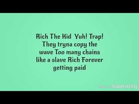 Rich the kid Famous Dexter New wave Lyics HD VIDEO