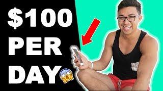 #1 Way to Make $100 PER DAY as a Broke Individual