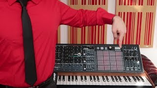 Here's The Robots by Kraftwerk recreated with just one synth, the A...