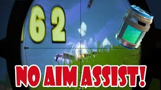 CONSOLE FORTNITE WITHOUT AIM ASSIST | Fortnite Battle Royale