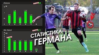 СТАТИСТИКА ГЕРМАНА в матче /// АМКАЛ против ВГИКа ft. НЕЧАЙ