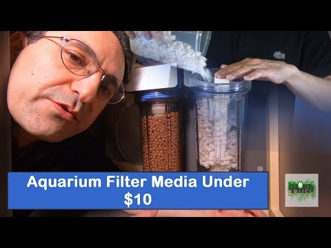 DIY Aquarium Filter Media Under 10 Dollars