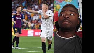 Messi est seul ! Barcelone - Valence 1-2  finale Copa Del Rey 2019