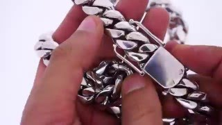 500 grams 10k white gold miami cuban link chain solid gold