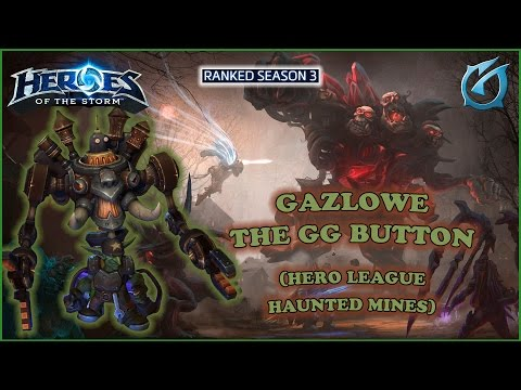 Grubby | Heroes of the Storm - Gazlowe -  The GG Button - HL S3 - Haunted Mines