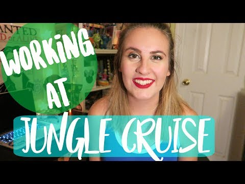 WHAT IT'S REALLY LIKE working at JUNGLE CRUISE at Disney