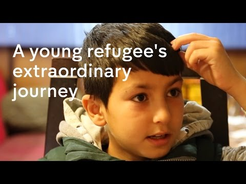 One young refugee's extraordinary story