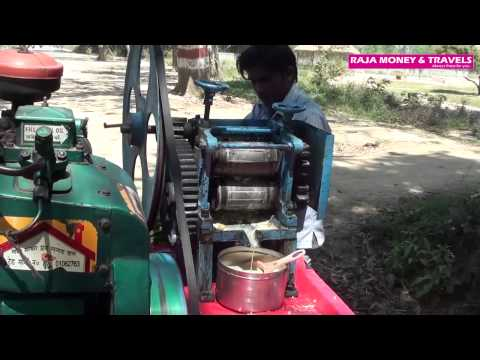Fresh Sugar Cane  Juice in Indian Style - Travel India
