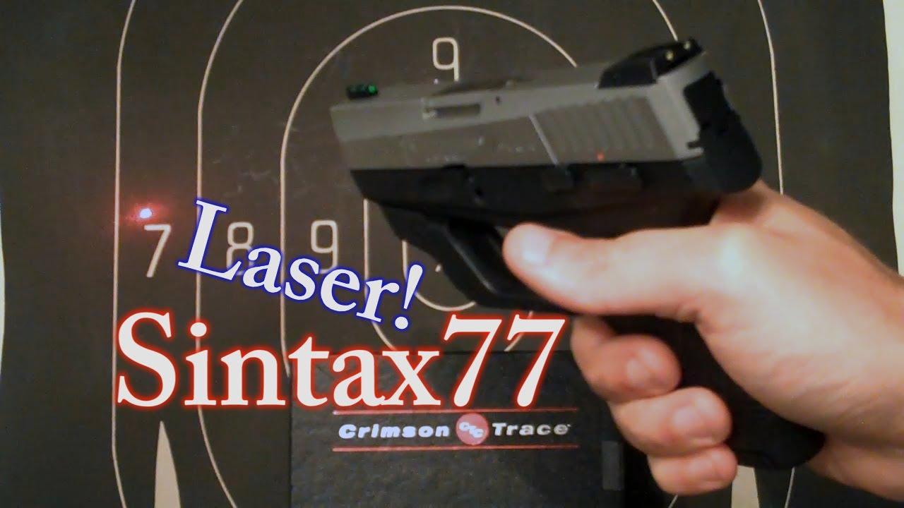 709 slim 9mm pistol - Crimson Trace Laser For Taurus 740 709 Slim 40 Cal Sub Compact Youtube