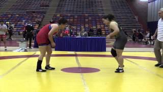 2014 Exhibition Dual: 82 kg Marlena Woldring vs. Marlen Figueroa