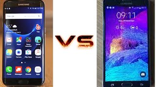 OPINIÓN SAMSUNG GALAXY S7 EDGE VS SAMSUNG GALAXY NOTE 4