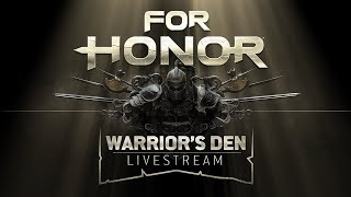 Warrior's Den Weekly Livestream - April 26th 2018