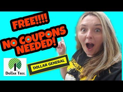 🏃♀️ FREE STUFF at Dollar Tree 🌳 & Dollar General