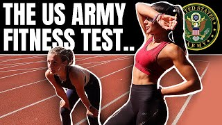 We Took On The US Army Fitness Test Without Practise...