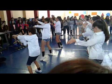 Coreografia alianza blanca san fernando college basica 2017