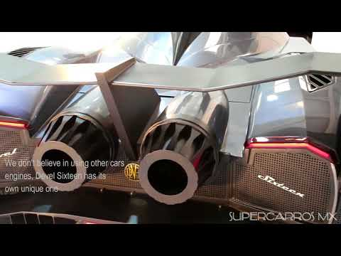Devel Sixteen - V16 5000 HP Motor Dyno - Supercarros MX - TOP mejores supercarros del mundo