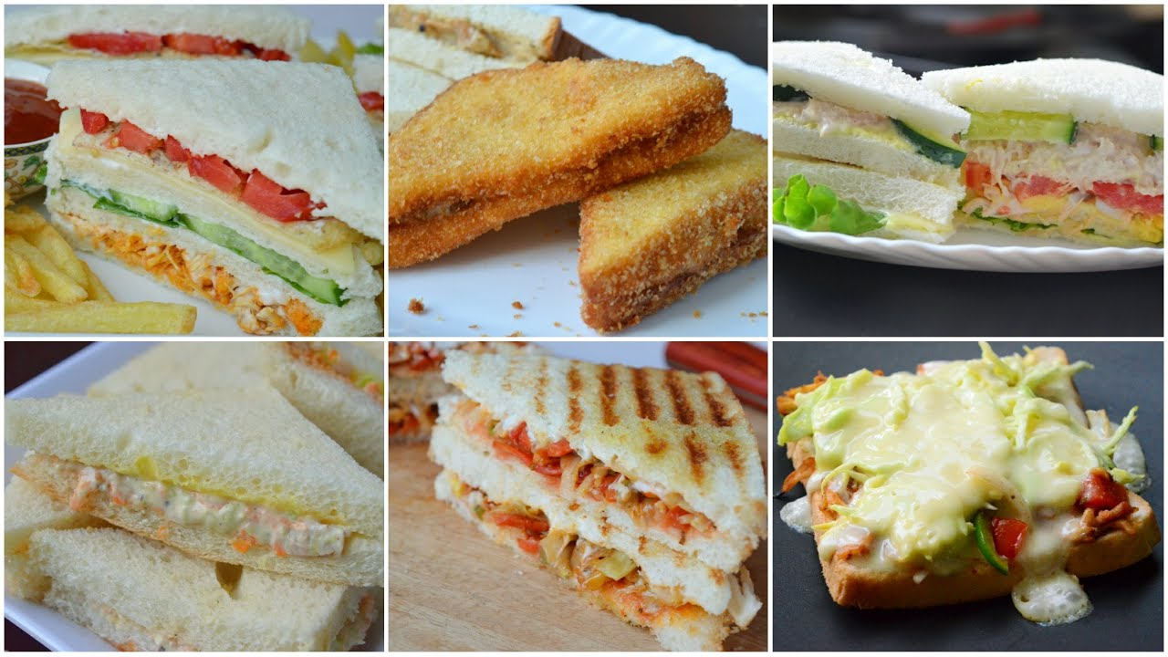 6 BEST SANDWICHES YOU EVER EAT by (YES I CAN COOK)