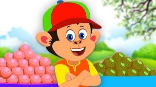 Bandar Mama Pahan Pajama | बंदर मामा | Hindi Nursery Rhymes | बाल कविताएं | Hindi Rhymes