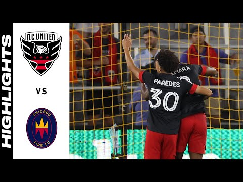 DC United Chicago Goals And Highlights