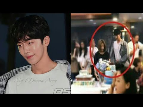 Download 170825 Nam joo hyuk spotted stressed at Bride of the water God wrap up party.