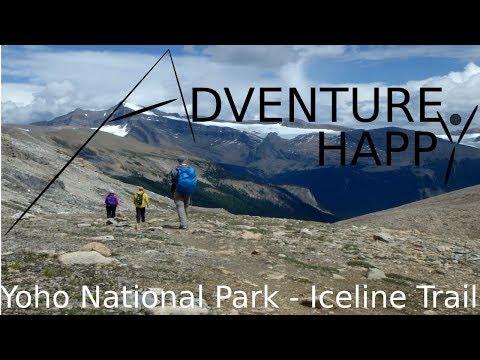 Yoho National Park - Iceline Trail, Yoho Valley, Kiwetinok Pass 3 Day Backpacking Trip