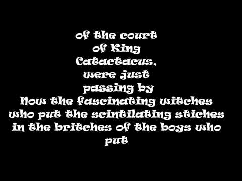 The Court of King Caractacus Lyrics