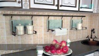 видео Рейлинги и аксессуары для кухни: навесные кухонные элементы