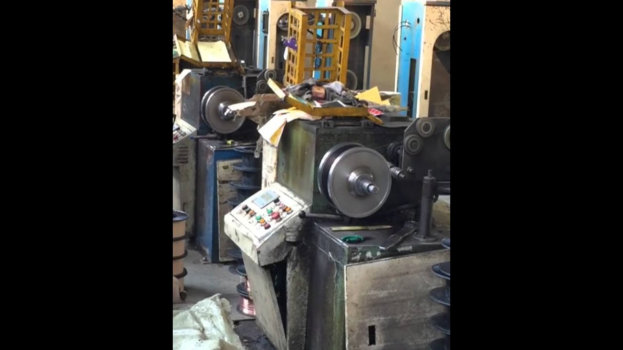 Welding Wire Production Process - YouTube