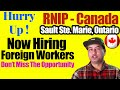 GOOD NEWS! NOW HIRING FOREIGN WORKERS FOR RURAL AND NORTHERN IMMIGRATION PILOT PROGRAM