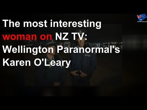 The Most Interesting Woman On NZ TV: Wellington Paranormal's Karen O'Leary