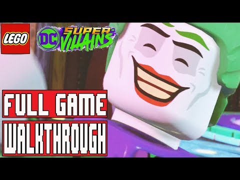 LEGO DC SUPER VILLAINS Gameplay Walkthrough Part 1 FULL GAME  No Commentary