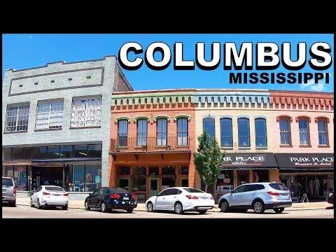 Columbus Mississippi Downtown Tour