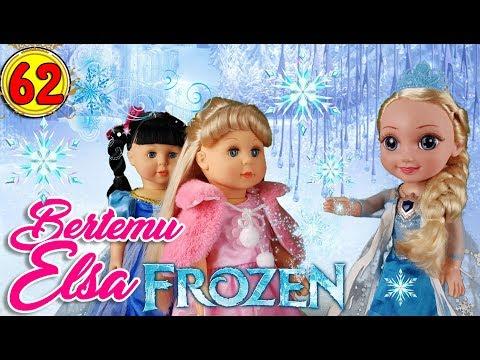 #62 Bertemu Elsa FROZEN - Boneka Walking Doll Cantik Lucu -7L   Belinda Palace