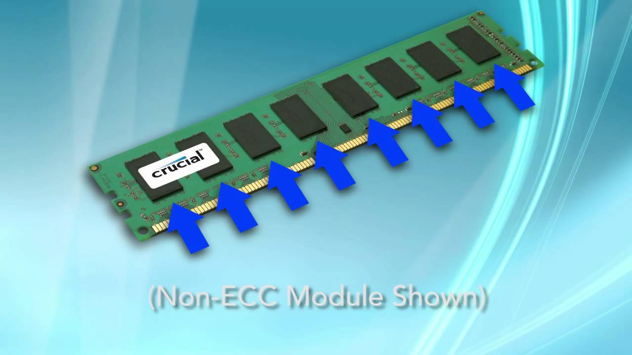 Ecc Memory Vs Non Ecc Memory Whats The Difference Between These