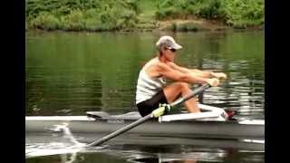Natural Rowing Technique Demonstrated by Charlotte Hollings
