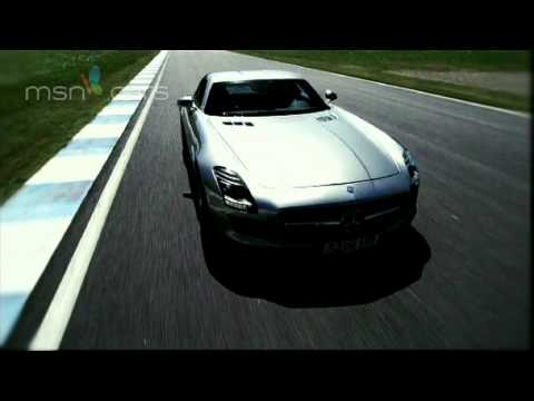 Mercedes-Benz SLS AMG road test review
