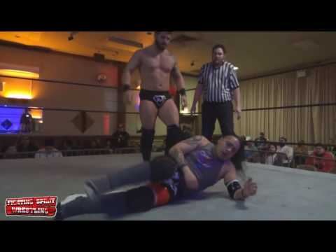 Mike Verna Vs Whiplash - Only The Strong 2016 - Fighting Spirit Wrestling