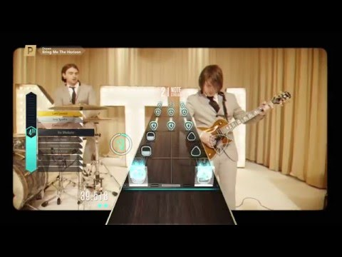 Guitar Hero Live: Bring Me The Horizon- Drown, Expert, Chart Preview, Premium Song (98%)