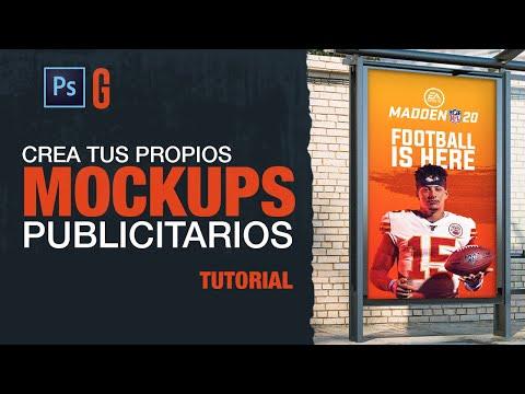 Photoshop Tutorial | Crea Tus Propios Mockups Publicitarios | Create Your Own Advertising Mockups
