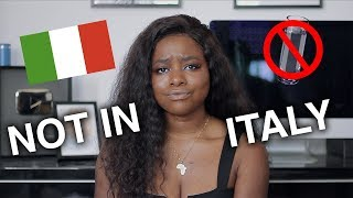 what you shouldn't wear in italy