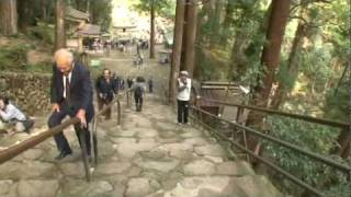 B032【世界遺産 和歌山】那智の滝へ歩く