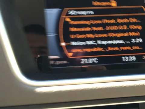 Дополнение к обзору видеоинтерфейса на Ауди Q5