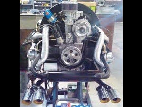 Volkswagen Engine Removal-Part 1-VW