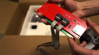Распаковка посылки, 3D Принтер!(Всех приветствую, в этом видео я распаковываю 3D принтер Prusa i3, реализуемый как конструктор