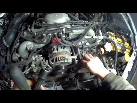 Ремонт автомобилей замена ремня ГРМ Subaru 2.5